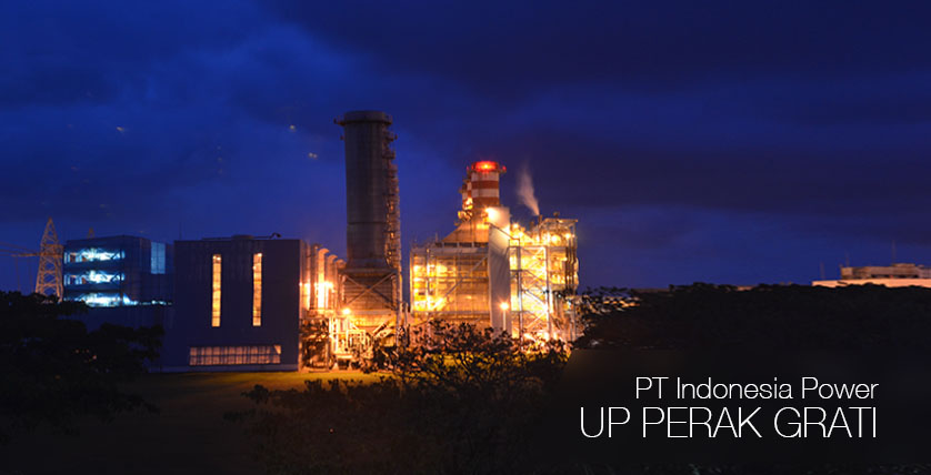 PT Indonesia Power UP Perak Grati